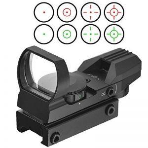 20mm airsoft Tactical ferroviaire multi réticule 4 Rouge et Green Dot Sight Portée queue d'aronde Monts Red Dot Sight de la marque image 0 produit