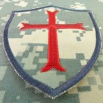 ACU Gray Subdued Crusaders Templar Cross US Marine Navy Seals DEVGRU Embroidered Attache-boucle Écusson Patch de la marque image 2 produit