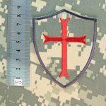 ACU Gray Subdued Crusaders Templar Cross US Marine Navy Seals DEVGRU Embroidered Attache-boucle Écusson Patch de la marque image 4 produit