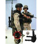AGPtek Etui à Pistolet Holster De Cuisse Pistolet Jambe pour Armée Tactique En Nylon Noir et Réglable de la marque image 1 produit