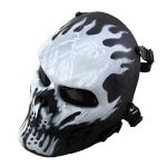 Airsoft Masque de protection militaire protection Paintball Halloween Htuk® Tête de mort de la marque image 2 produit