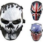Airsoft Masque de protection militaire protection Paintball Halloween Htuk® Tête de mort de la marque image 3 produit