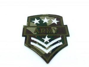 ARMY Emblème du Soldat Multicam Fer Coudre Patch Brodé Cosplay de la marque image 0 produit