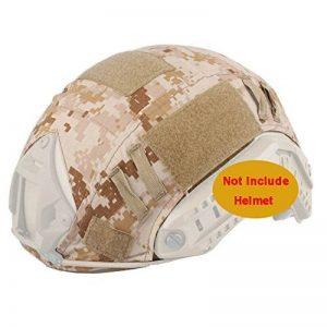 ATAIRSOFT Housse de casque tactique Emerson Airsoft pour casque militaire rapide BJ PJ MH (AOR1) de la marque image 0 produit