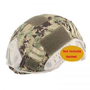 ATAIRSOFT Housse de casque tactique Emerson Airsoft pour casque militaire rapide BJ PJ MH (AOR2) de la marque image 0 produit