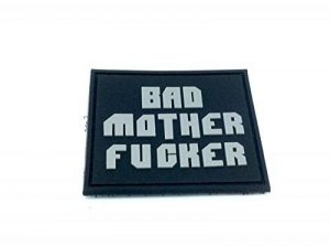 Bad Mother F***er Airsoft PVC Morale Patch de la marque image 0 produit
