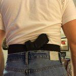 Bande Élastique Holster Étui de Ceinture Adjustable Reins Protection avec 2 Pistolet Pochettes de Magazin Noir de la marque image 6 produit