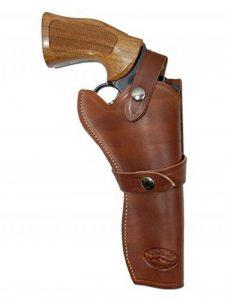 Barsony Holsters & Belts Taille 5 Colt Ruger S&W Droit marron Étui en cuir Western de la marque image 0 produit