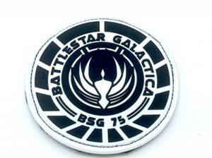 Battlestar Galactica BSG 75 Officer PVC Airsoft Fan Patch de la marque image 0 produit