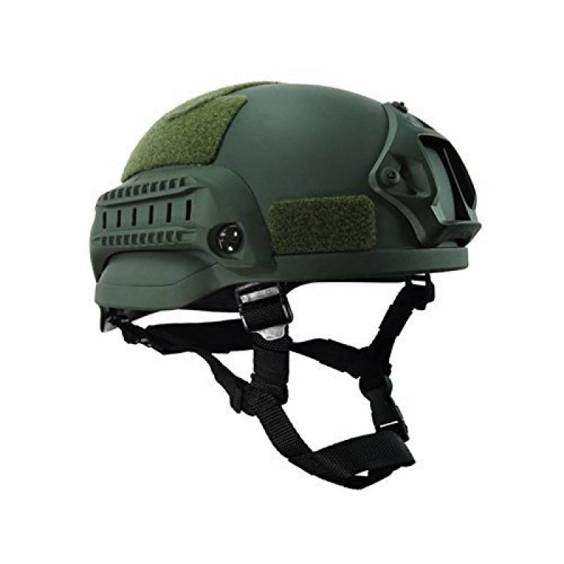 Casque de Paintball Airsoft SNFHL Casque de Chasse Casque Tactique Ext/érieur Unisexe /à Double Usage Casque Militaire Casque D/écontract/é