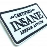 Certified Insane Arkham Asylum Batman Emblem Fer Coudre Patch Brodé Cosplay de la marque image 1 produit