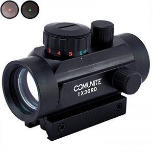 Comunite 1X 30 Vert rouge / Vert Portée tactique Holograp tactique avec pont de montage intégré Picatinny de la marque image 0 produit
