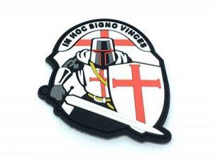 Crusader 'In Hoc Signo Vinces ' Knights Templar Airsoft PVC Patch de la marque image 0 produit