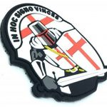 Crusader 'In Hoc Signo Vinces ' Knights Templar Airsoft PVC Patch de la marque image 1 produit