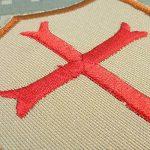 Desert AOR1 Crusaders Templar Cross US Marine Navy Seals DEVGRU Embroidered Attache-boucle Écusson Patch de la marque image 2 produit