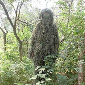 Edealing 1PCS New Ghillie Suit Woodland Camo Chasse Forêt 3D Camouflage de la marque image 0 produit
