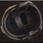 Emerson Casque Fast PJ de type SWAT avec lunettes de protection pour combat rapproché/tir/airsoft/paintball Noir de la marque image 3 produit
