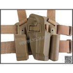 Emerson France Holster / Etui De Cuisse Type CQC Pour Beretta M9 / M92 Plusieurs Couleurs de la marque image 1 produit