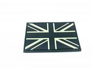 Empiècement Paintball Airsoft PVC Noir Drapeau Union Jack de la marque image 0 produit