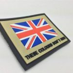 "Empiècement Union Jack PVC Airsoft ""These Colours Don't Run "" de la marque image 1 produit"