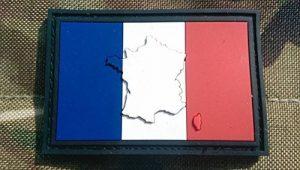 En relief France Français Drapeau Airsoft Moral Patch en PVC de la marque image 0 produit