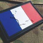 En relief France Français Drapeau Airsoft Moral Patch en PVC de la marque image 1 produit