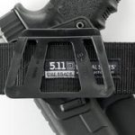 Fobus kit 360 rotating roto paddle retention holster + belt attachment + 6cm police wide duty belt adapter for Beretta 92F/96 except Brig. & Elite / Taurus PT 92 cs Feg P9R de la marque image 3 produit