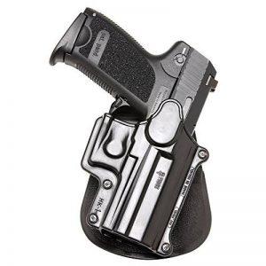 Fobus Roto Holster droite Paddle Hk1rp H & K USP et compacte 9mm/40et 45, taille complète 9mm/40/S & W Sigma Série 9/40VE/E/G/Fn49/Ruger adaptateur réseau/Taurus Millenium de modèles (Pro vous Référer au Sp11b) de la marque image 0 produit