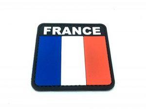 France Drapeau Tricolore Français Airsoft PVC Patch de la marque image 0 produit