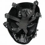 Full Face Airsoft Masque Imprimé étoiles facile haleine voir par le Masque de paintball avec maille métallique protection des yeux de la marque image 3 produit