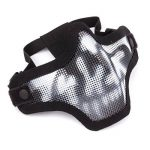 GES Outdoor Tactical CS Masque en maille de fil Airsoft Mesh Steel demi-masque avec camouflage pour Airsoft Shooting Paintball de la marque image 1 produit