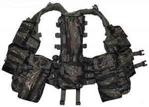 gilet Tactical, beaucoup de poches, Couleur:tiger stripe de la marque image 0 produit