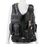 Gonex Gilet Tactique Militaire Gilet de Combat Veste Extérieure Pour Airsoft Jeu CS Militaire Cosplay Noir de la marque image 1 produit