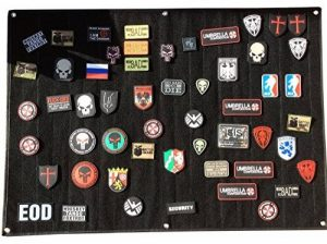 Grand Noir Moral Panel Display Patch de la marque image 0 produit
