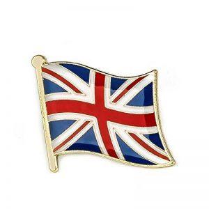 Grande-Bretagne Union Jack Drapeau badge à épingle en métal de la marque image 0 produit