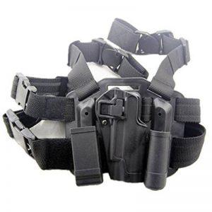 H World EU Cuisse droite de la jambe holsters torche et Colt 1911 M1911 magazine de sac de la marque image 0 produit