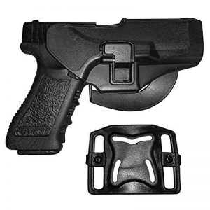 /Étui Noir Durable pour Pistolet /à bandouli/ère /Étui r/églable avec /étui pour Magazine MLMLH Holster d/épaule