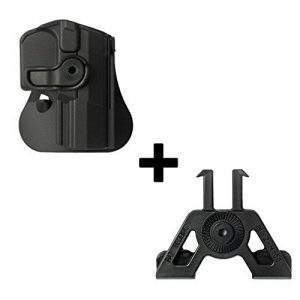 IMI Defense Tactical retention rotating 360 roto paddle polymer Holster + Molle adapter attachment for Walther P99 P99 AS P99C AS pistol handgun de la marque image 0 produit