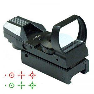 IRON JIA'S 20mm airsoft Tactical ferroviaire multi réticule 4 Rouge et Green Dot Sight Portée queue d'aronde Monts Red Dot Sight de la marque image 0 produit