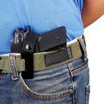 IWB Holster tactique de pistolet Glock 171923262743m & P Shield 9mm Clip ceinture Beretta 92universel 1911Compact Ceinture gauche Main droite Springfield Xds Ruger LCP cachée de transport avec clip de la marque image 1 produit