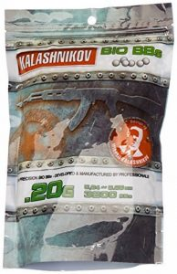 Kalashnikov Billes biodégradable Sac de 3200 BB's 0,20 g de la marque image 0 produit