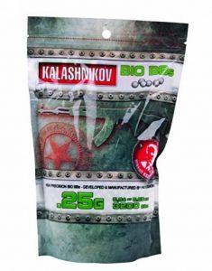 Kalashnikov Billes biodégradable Sac de 3200 BB's/C20 0,25 g de la marque image 0 produit