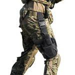 L'étui de Revoler Holster de Pistolet pour Main Droit Sac pour Jambe de la marque image 5 produit