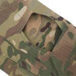 Lanbaosi Chemise de Combat Militaire Homme Airsoft Shirt Tenue Camouflage Uniforme Tactique Séchage rapide à manches imperméables de la marque image 4 produit
