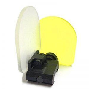 lentille de portée airsoft, QMFIVE Toiles de protection Airsoft pour écran de portée rouge Couverture anti-point 20mm avec montage Reflex de la marque image 0 produit