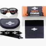Les lunettes de sécurité spoggles haut de gamme par ToolFreak   une combinaison parfaite de lunettes de sécurité et de lunettes de protection   Rembourrées de mousse   Lunettes de protection élégantes   Anti-rayure   Protection contre les rayons ultra vio image 1 produit