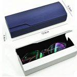 Lunettes Boîtes Lunettes de soleil Case Box étui à lunettes mode, Silver de la marque image 1 produit