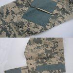 Magcomsen Hommes Tactique Militaire Airsoft Combat T-shirt Longue Mancheavec Fermeture éclair de la marque image 5 produit