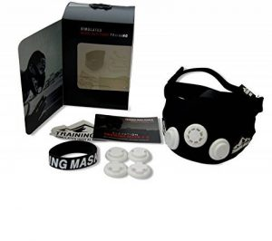 Masque d'entraînement 2.0 à haute altitude Training Mask - MMA, Football, Course à pied, Cyclisme, Natation, Boxe, Cross Fit, Cardio, Fitness et Endurance, Exercice Fournitures - Noir, Unisexe, Petite, Moyenne, Grande Tailles, 45-120 + kg Advanced Technol image 0 produit
