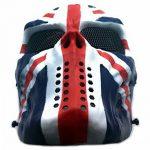 Masque de protection CS Masque de squelette crâne complet Airsoft Paintball de Airsoft drapeau de l'Union de la marque image 1 produit